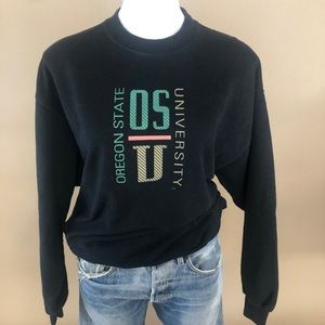 Vintage Oregon State University Sweatshirt Large